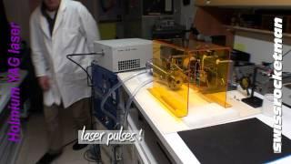 Holmium YAG laser tests