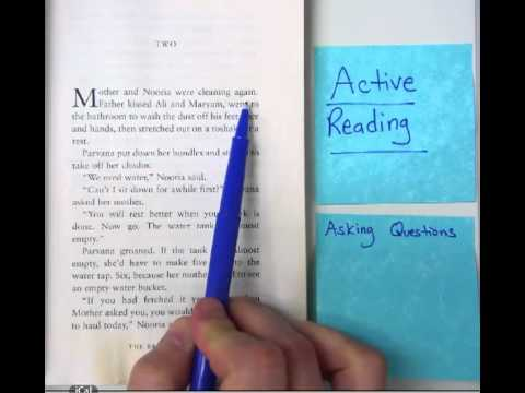 Active Reading- Asking Questions - YouTube