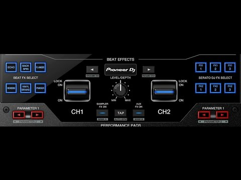 Pioneer DJM-S9: Effects (FX) Tutorial Video