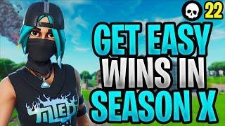 Wie leicht zu bekommen Siege in Fortnite Saison X! (How To Win - Fortnite Season 10 Tipps)
