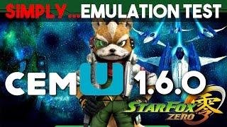 Star Fox Zero - Wii U 1080p [Cemu 1.6.0 Test]