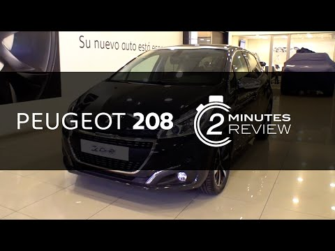 Peugeot 208: 2 Minutes Review. Peugeot pasajeros. Bruno Fritsch Santiago y Concepción, Chile