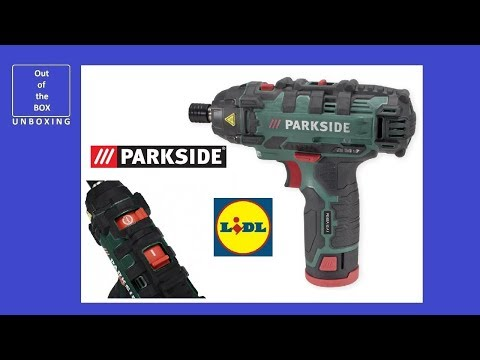Parkside 12V Li-ion Cordless Rotary Tool with 50-Pc Accessories 3 Yrs Warranty