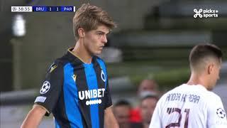Champions League 15.09.2021 / HIGHLIGHTS NL / Club Brugge - PSG