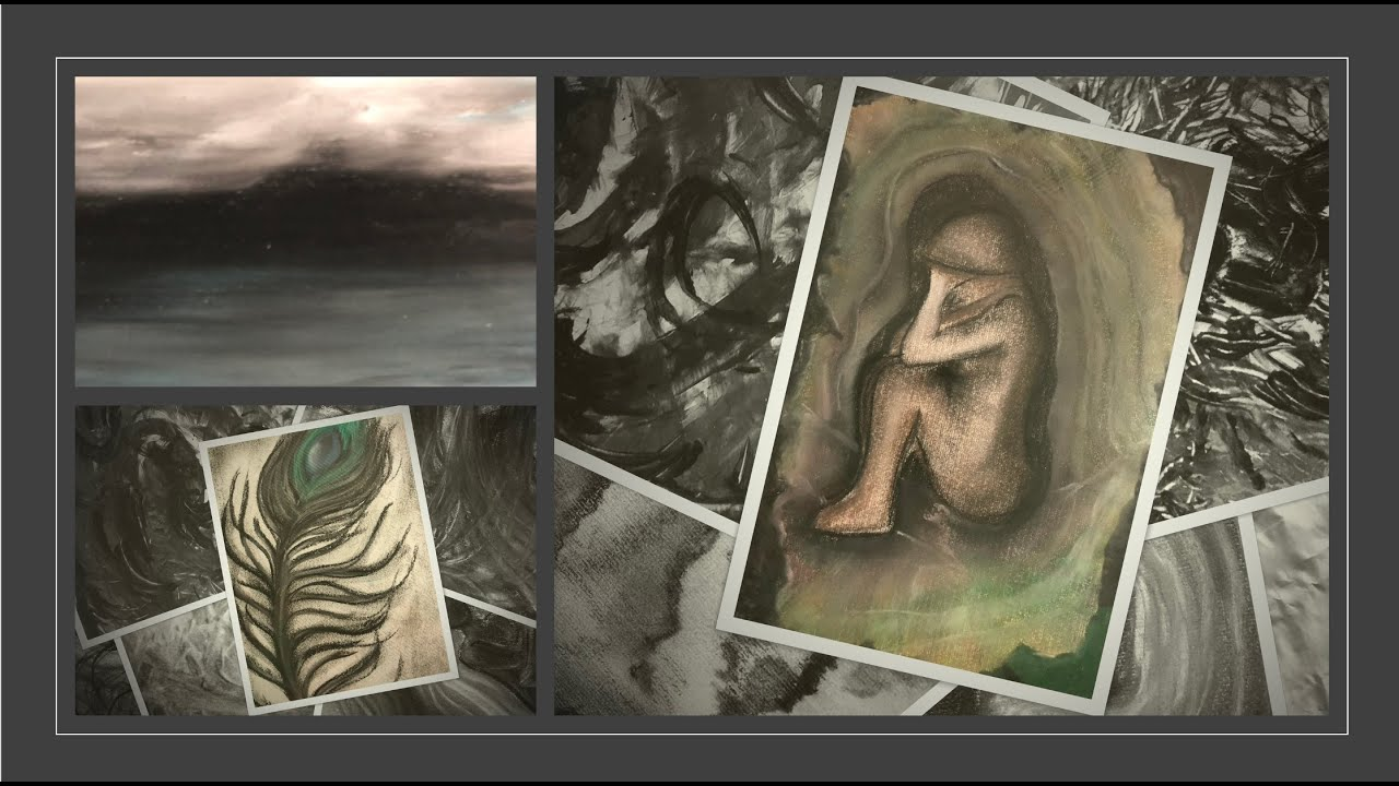 Create a collage of images in online therapy