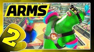 ARMS Part 2: Basketball, Ins Schwarze, Hundertkampf und ARMS-Test