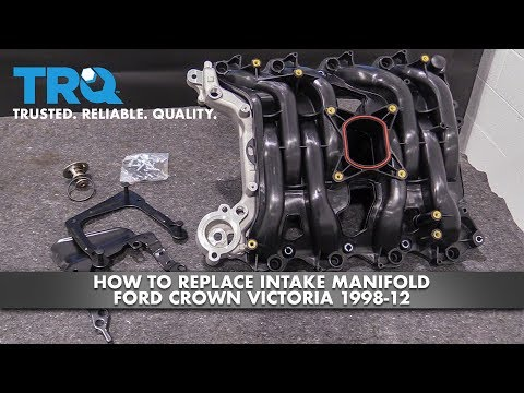 How to Replace Intake Manifold 1998-2012 Ford Crown Victoria