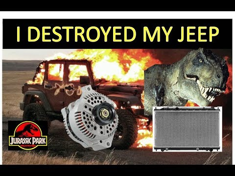 Alternator Replacement Jeep Wrangler – How to replace, destroy and make worse DIY Denso 56041685AA