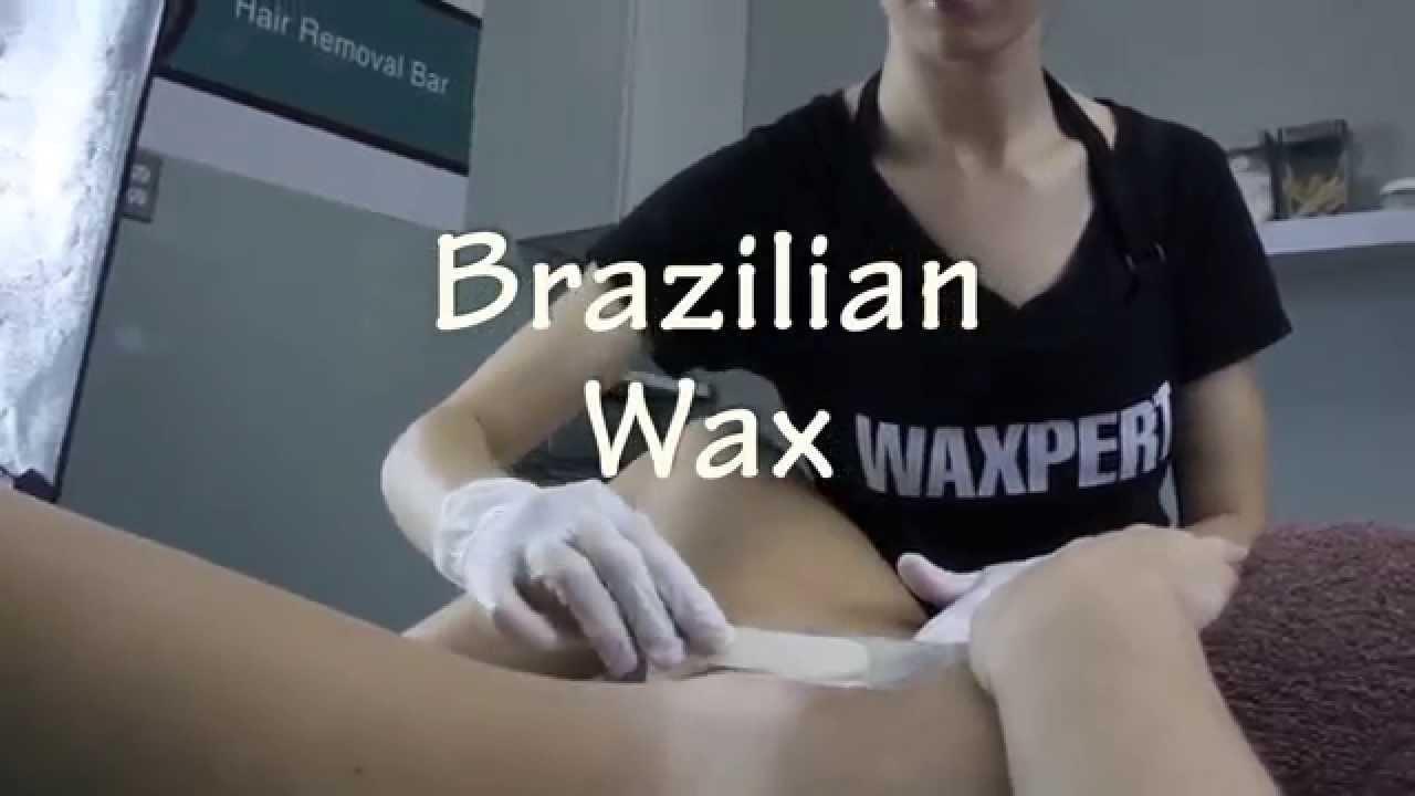 Me, her brazilian bikini wax questions are
