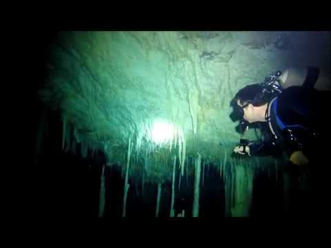 Diving with Dive Source | Diving the Crystal Caves of Abaco
