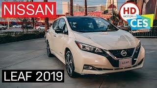 NISSAN LEAF E+ 2019: elettrica da 385 km con batteria da 62 kWh | 4K Preview