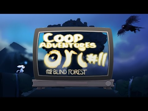 Ori and the Blind Forest Part 11  Sacred Power of Raging Winds  Coop Adventures