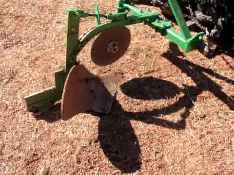 Moldboard Plow setup for garden tractormpg YouTube