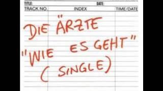 Die Ärzte - Wie Es Geht 2000 (Single)