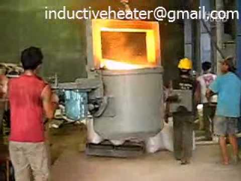 500KG Iron melting furnace
