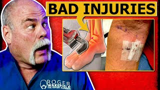 TOP 7 Injuries In The Trades | Plumbing 101 | Plumbing Safety