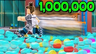 POPPING 1,000,000 BUBBLES AT ONCE! (Roblox Bubble Wrap Simulator)