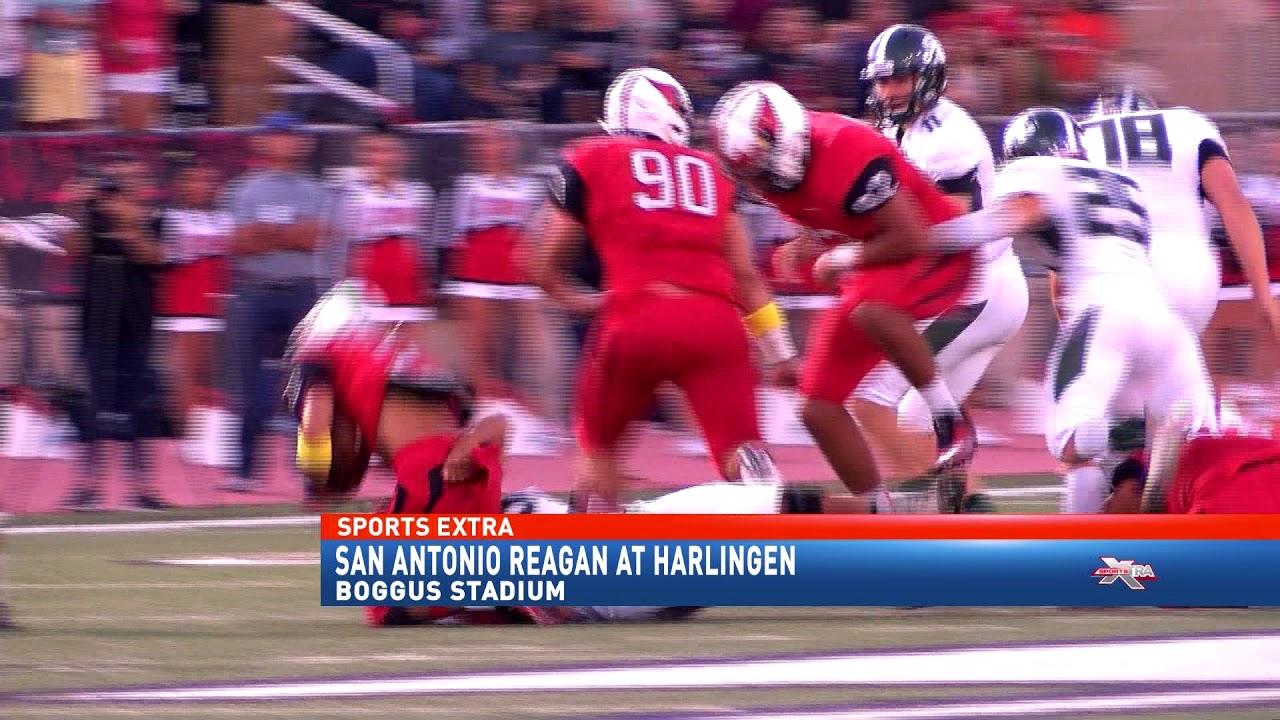 661a4a3c4d73 Harlingen defense delivers victory over San Antonio Reagan - YouTube