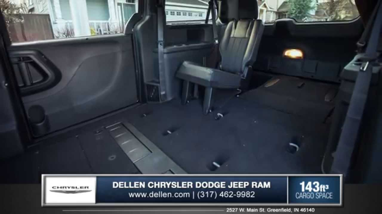 2015 chrysler town and country interior review in greenfield in youtube. Black Bedroom Furniture Sets. Home Design Ideas