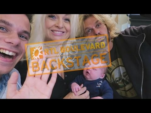 Aran Bade op babybezoek bij Bobbi Eden - RTL BOULEVARD