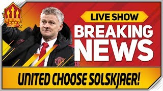 Man Utd Make Solskjaer Decision! Man Utd News Now