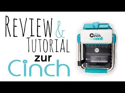 [Review & Tutorial] the Cinch von We R Memory Keepers | Bindemaschine