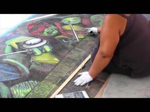 Teenage Mutant Ninja Turtles - Artist Mural