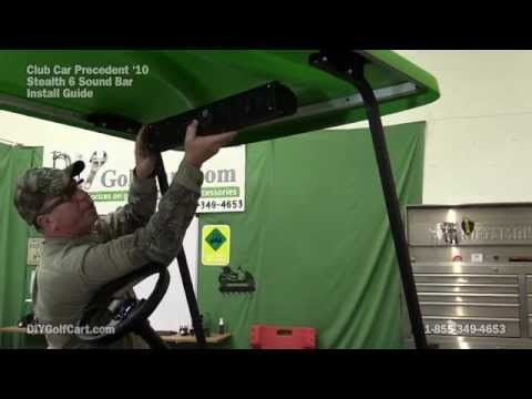 wet sounds stealth 6 sound bar install on golf cart youtube Snowmobile Wiring Diagram