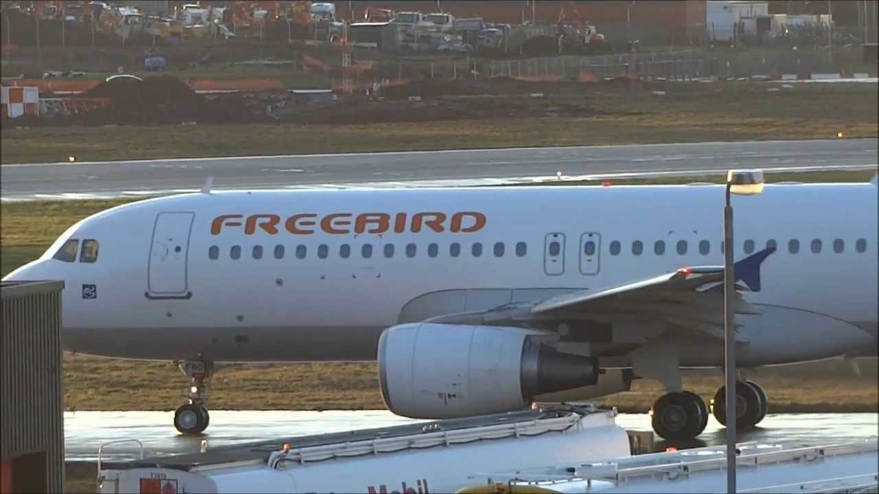 Freebird Airlines A320 Tc Fbo Arriving And Departing