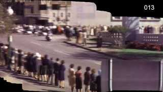 JFK Assassination Zapruder  18 fps + 6 fps  Stabilized Motion Panorama HD - 50th anniversary
