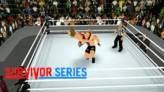 Brock Lesnar VS Daniel Bryan Survivor Series - | WR3D |