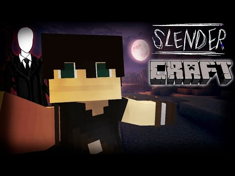 SlenderCraft = Minecraft + Slender? Инди хоррор игра! [Слендеркрафт]