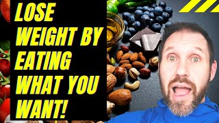 Discover my easy method to lose weight which lets you choose your own macro's you actually enjoy!