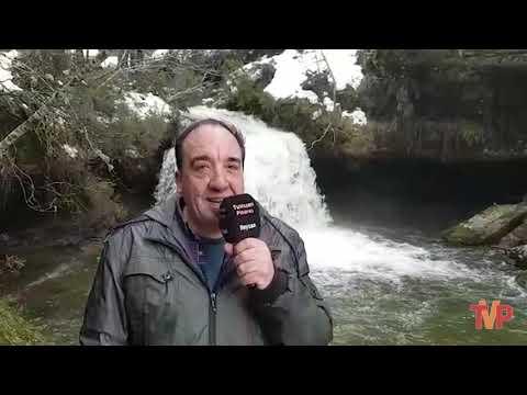 Cascada del Peñoncito en el término de Covaleda
