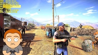 Ghost Recon Wildlands Beta Pc GTX 1080 1440p Frame Rate Performance Test