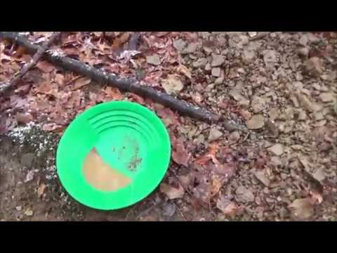 Gold Prospecting - Testing a new location