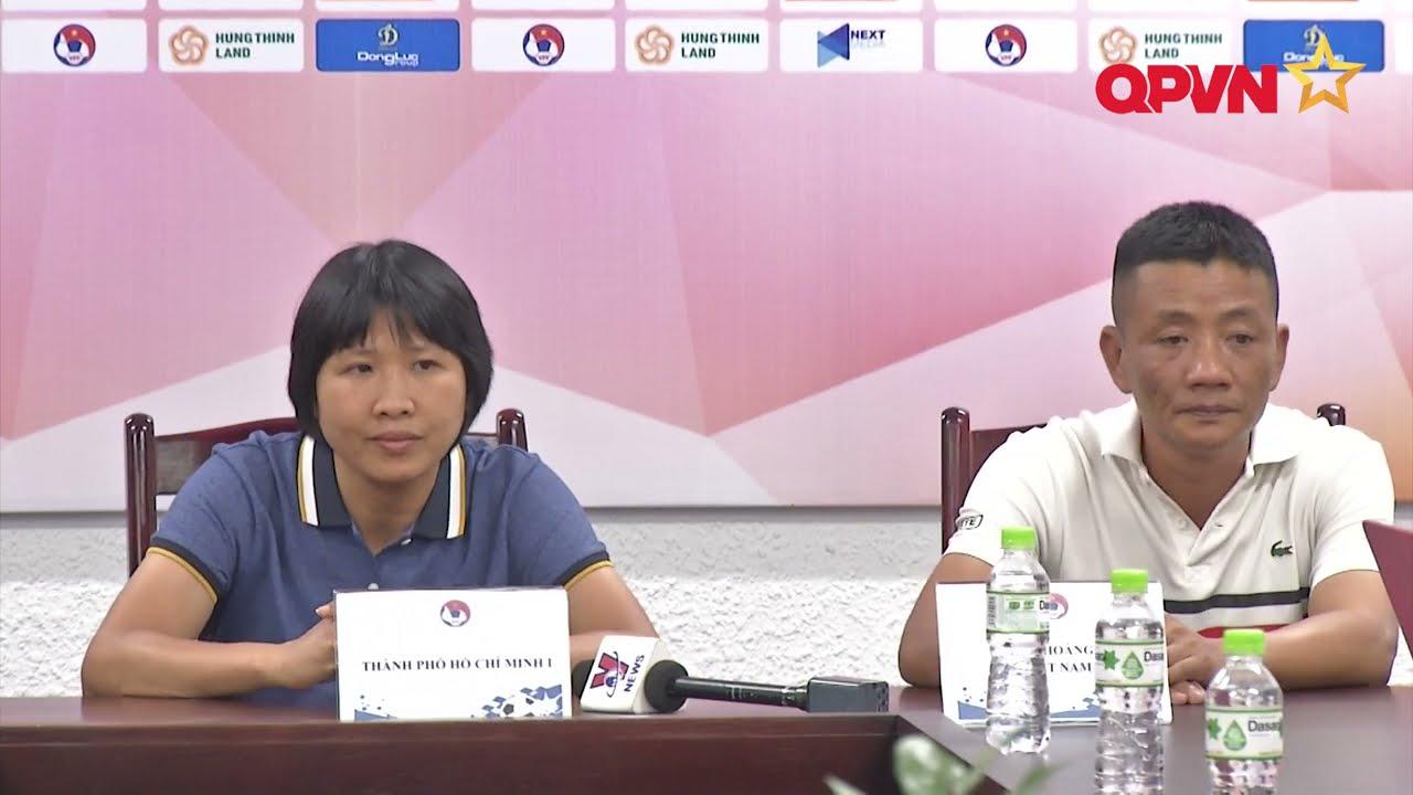 Tp HCM 1 và Hà Nội 1 Watabe đặt mục tiêu vô địch Giải bóng đá nữ Cúp quốc gia 2021
