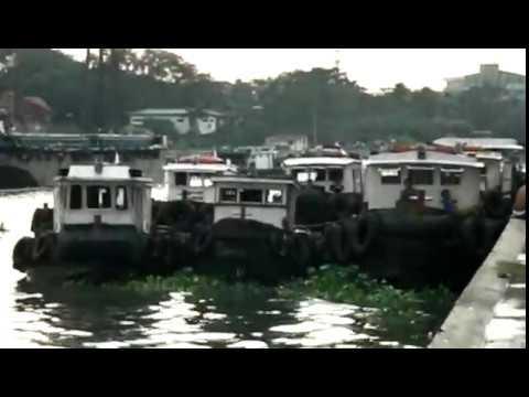 Boats Pasig River | Philippines Manila Binondo 7-12-2008
