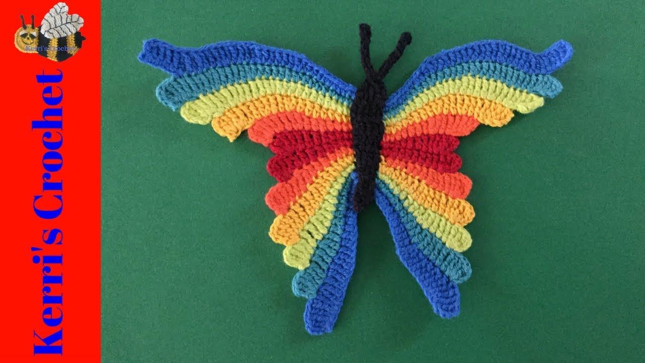 Butterfly baby rattle crochet pattern - Amigurumi Today   720x1280