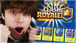 NEJVÍC LEGENDÁRNÍ OPENING PO LETECH!! // Clash Royale S Ogym
