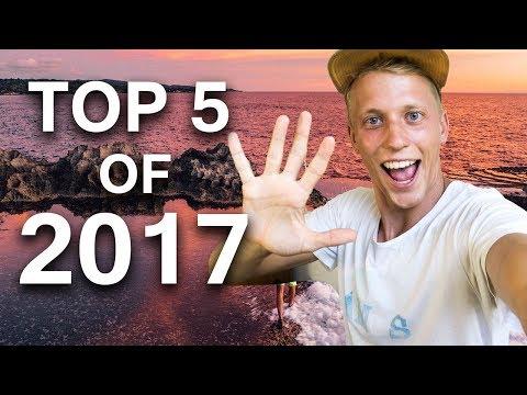 JORDENS TOP 5 TRAVEL DESTINATIONS OF 2017