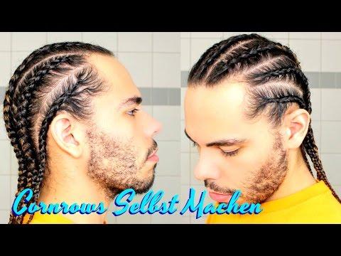 Tutorial Cornrows Selber Machen Haare / Zöpfe Selbst Flechten Boxer Braids Für Anfänger