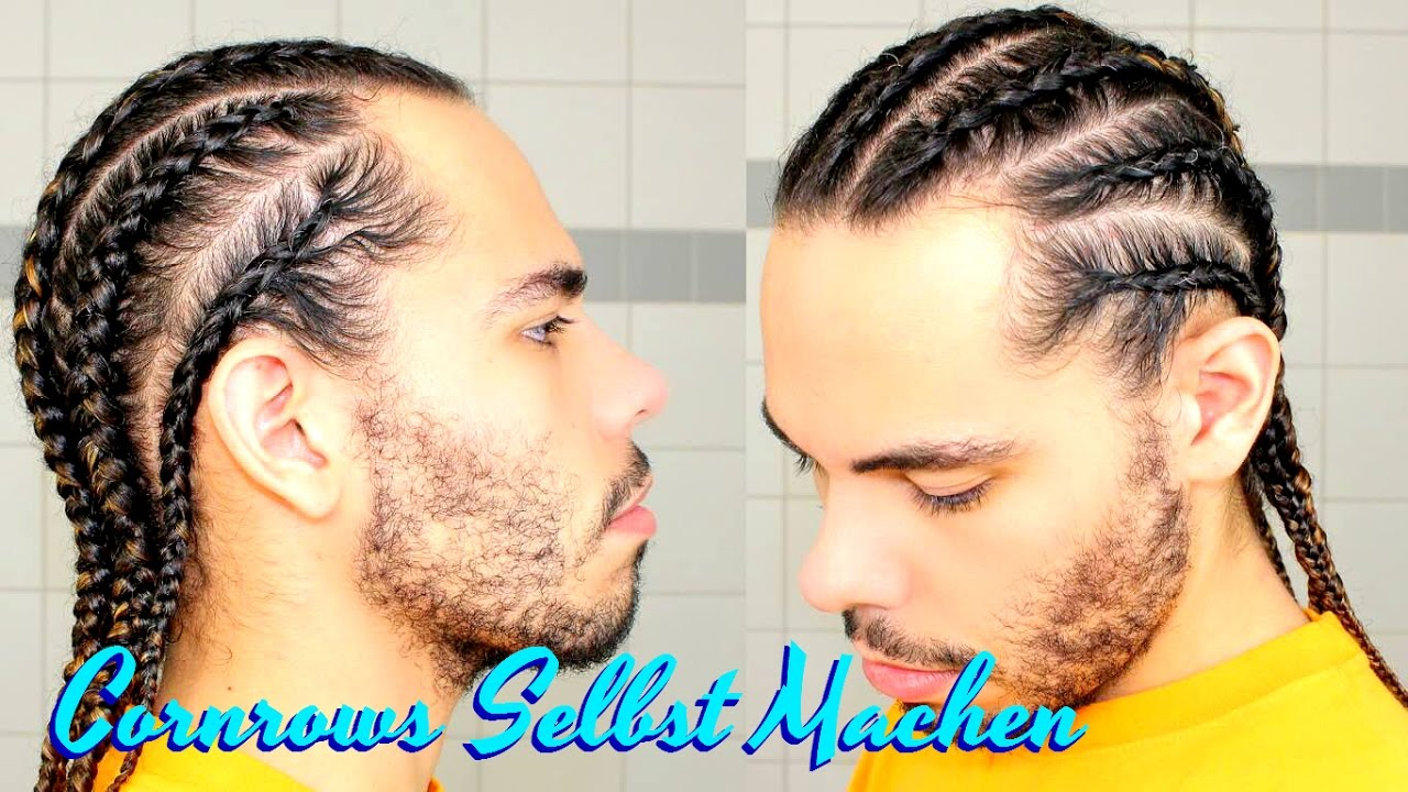 tutorial cornrows selber machen haare z pfe selbst flechten boxer braids f r anf nger youtube. Black Bedroom Furniture Sets. Home Design Ideas