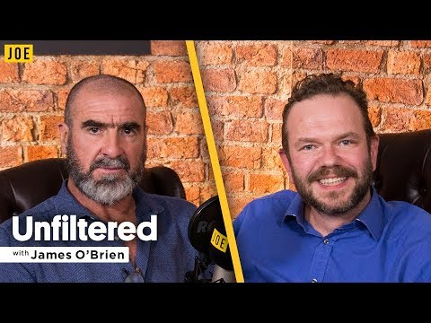 Eric Cantona talks to James O'Brien in episode nine of JOE.co.uk's video podcast Unfiltered