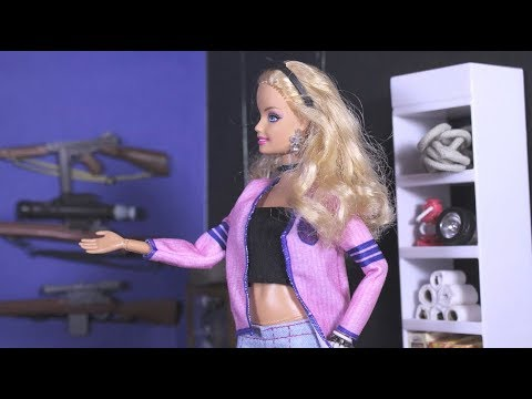 Panic Room - A Barbie parody in stop motion *FOR MATURE AUDIENCES*