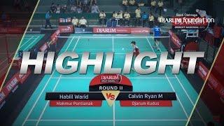 Hablil Warid (Makmur Pontianak) VS Calvin Ryan Mamonto (Djarum Kudus)