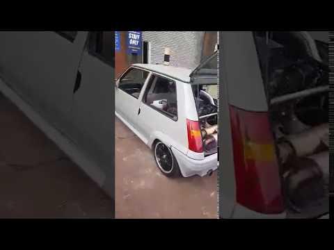 Renault 5 with Audi V8 4.2L Engine Swap