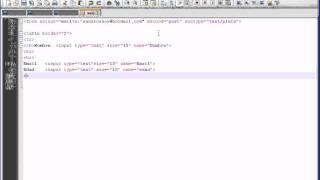 sandro sytem html crear formulario.avi
