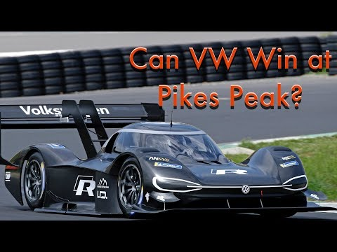 Will Volkswagen's I.D. R Pikes Peak Racer Win The Famous Hill Climb?