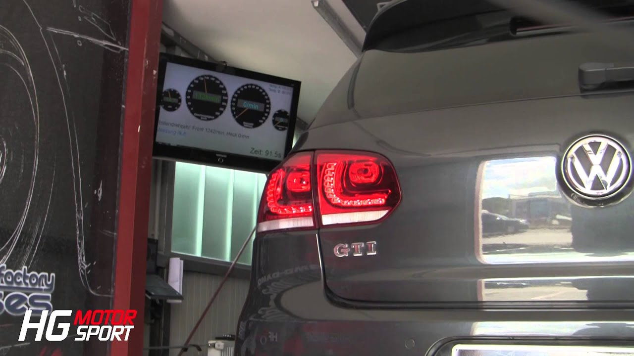 VW Golf 6 GTI with K04 64 Turbo Kit and SLS ECU Stage MAX Sound